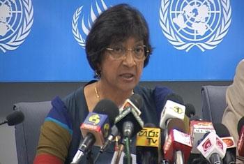 Navi Pillay lashes back at govt 'disinformation'