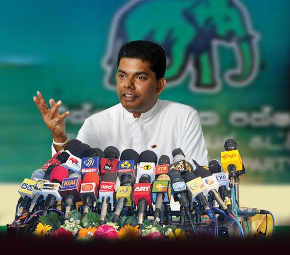 Gayantha says UNP confident in election win