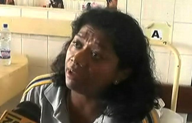 Susanthika hospitalised following assault; husband arrested