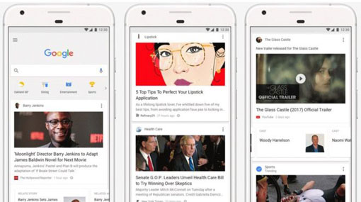 Google to add Facebook-style news feed