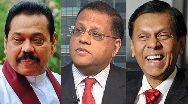 Petitions against Rajapaksa, Mahendran and Cabraal withdrawn