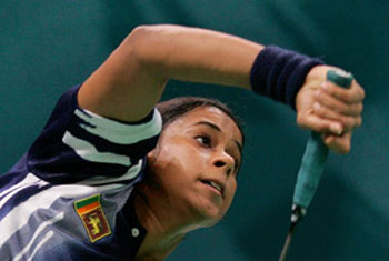 Shuttler Thilini Jayasinghe qualifies for Olympics