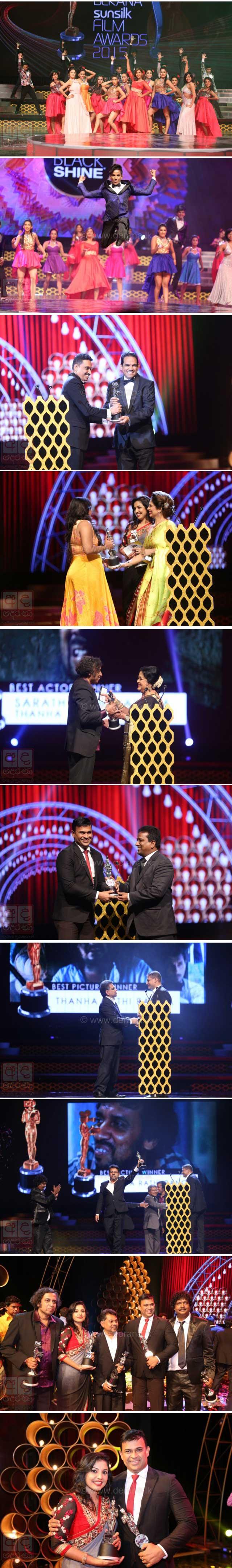 Thanha Rathi Ranga wins at Derana Film Awards 2015