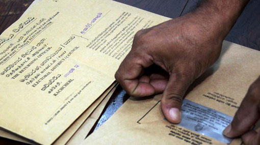 Dates announced for submitting postal voting applications