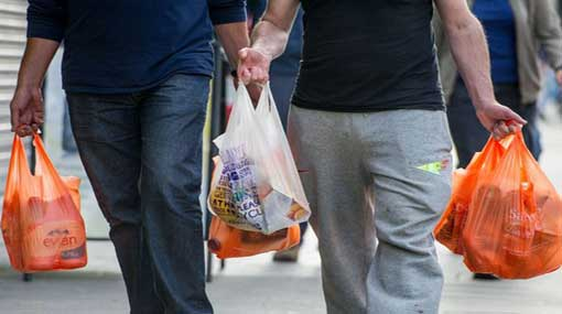 Polythene ban to come into place today