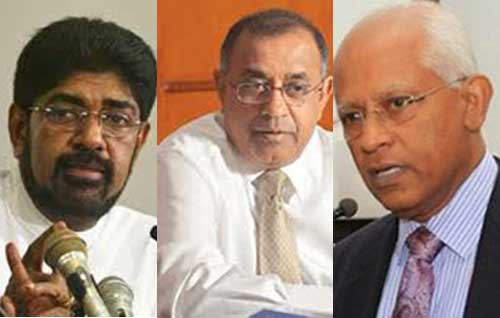 Keheliya, PB and Lalith grilled at Presidential CoI