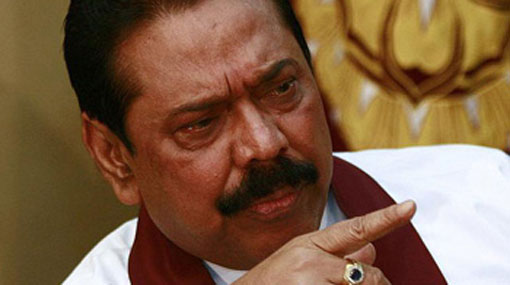 Mahinda denies allegations on misuse of funds