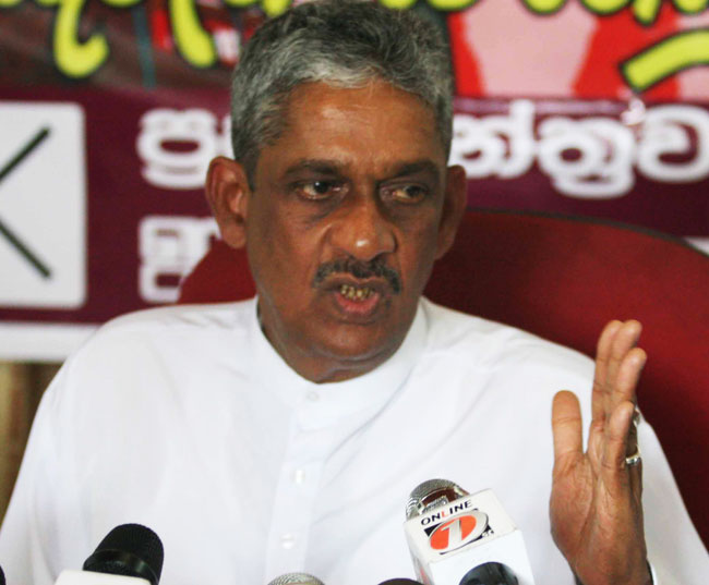 Sarath Fonseka says he would welcome war crime investigation
