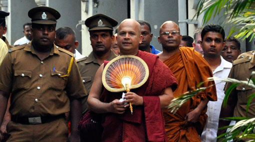 Ven. Uduwe Dhammaloka Thero released on bail