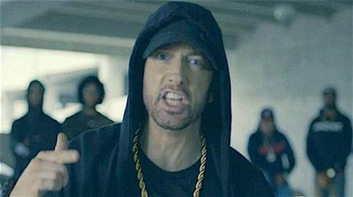 Eminem unleashes freestyle rap attack on 'kamikaze, racist, orange' Trump