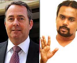 Wimal to meet Liam Fox face-to-face?