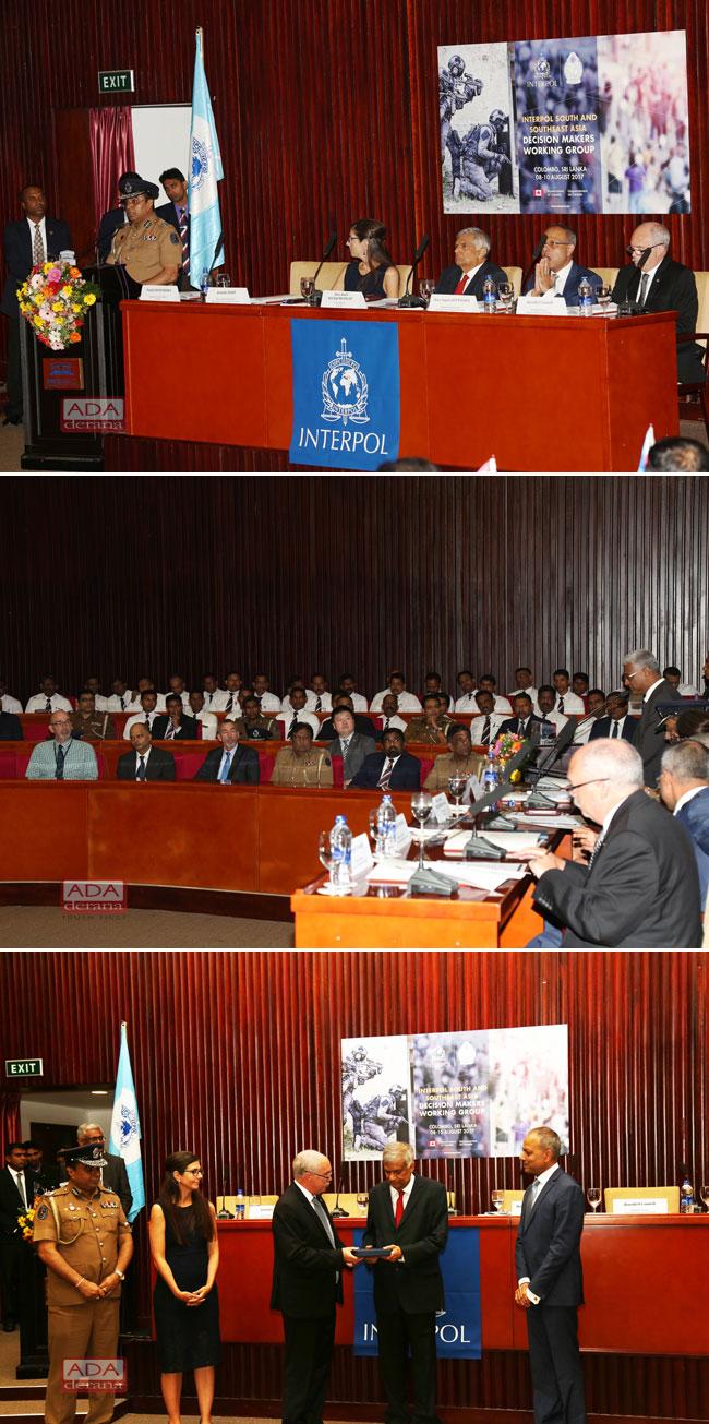 Interpol officials visit Sri Lanka…