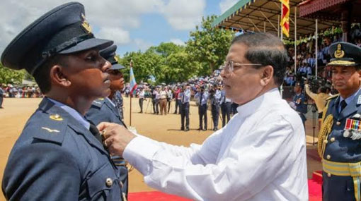 President lauds Airforce's contribution for National Security
