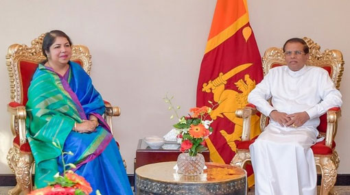 Bangladesh Speaker commends President Sirisena's 'exemplary' leadership