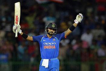 India beat Lanka by six wickets, win series 5-0