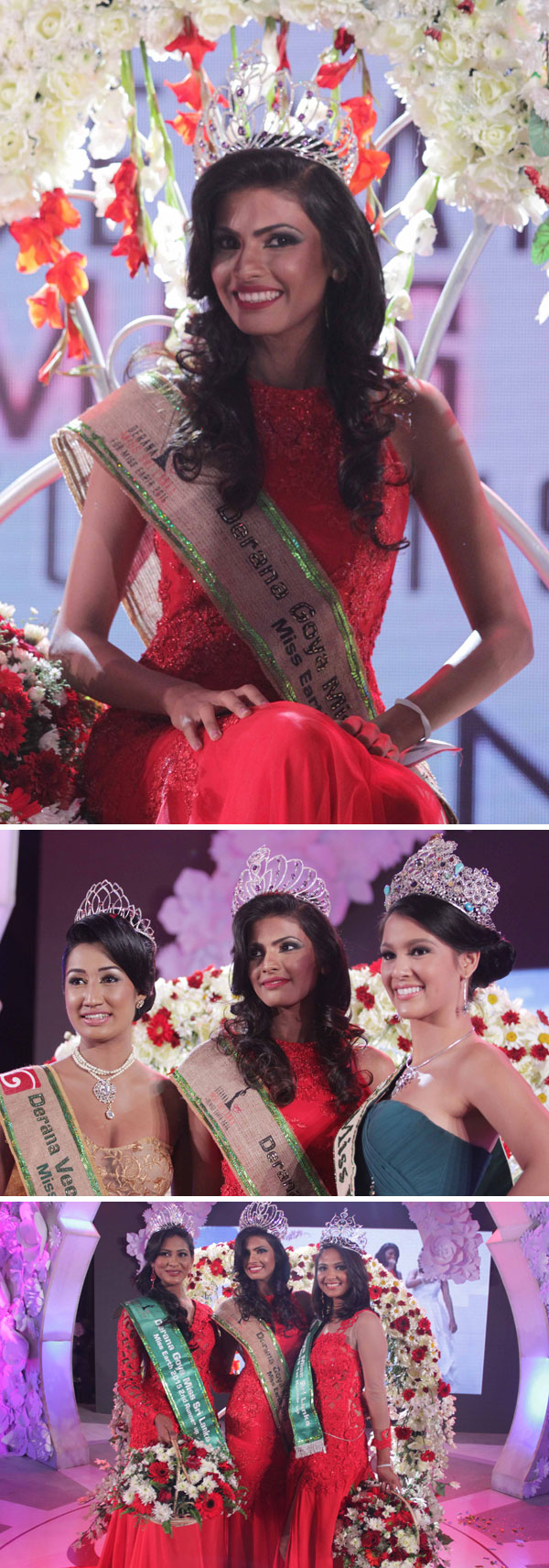 Visna crowned Derana Miss Sri Lanka...