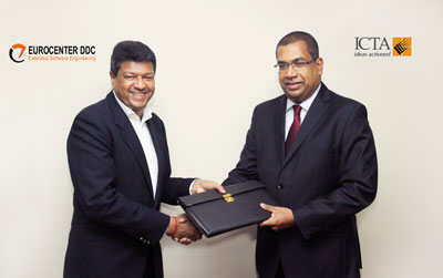 Eurocenter enables e-services for ICTA's Lanka Gate Project