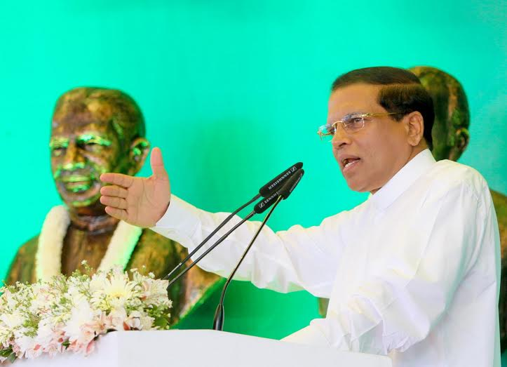 President Sirisena reveals secrets behind January polls