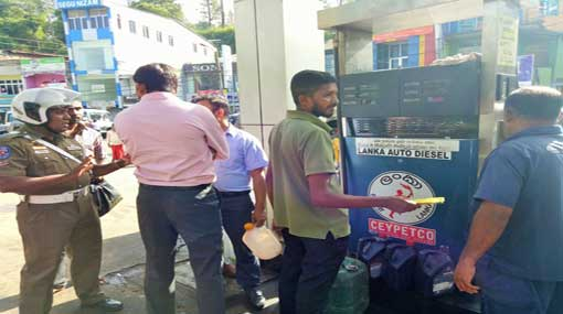 Public subjected to distress due to petroleum strike