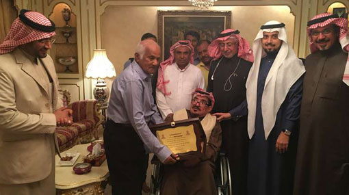 Saudi royal send-off for Sri Lankan driver