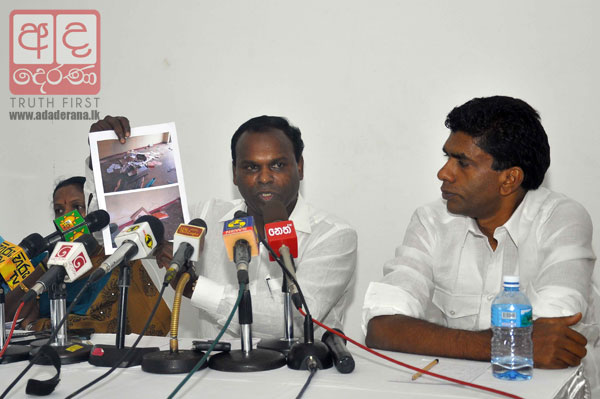 VIDEO: Digambaram vows to teach Thondaman a lesson
