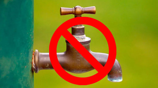 18hr water cut for Colombo and several other areas