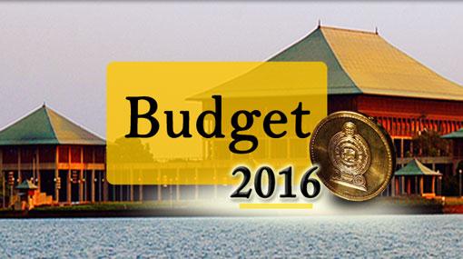 LIVE UPDATES: Budget 2016