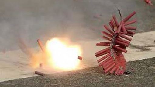 Three dead in explosion at fireworks factory