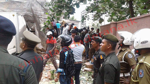 Desperate human and animal cries heard under collapsed building
