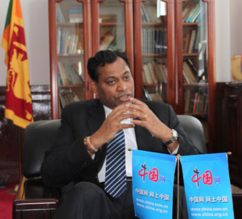 Exports to China have increased threefold, says Lankan envoy