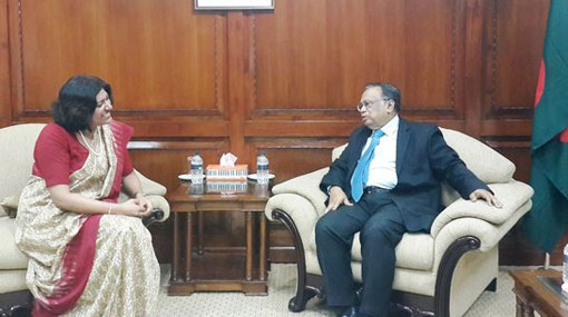 Lankan High Commissioner calls on Bangladesh Foreign Minister