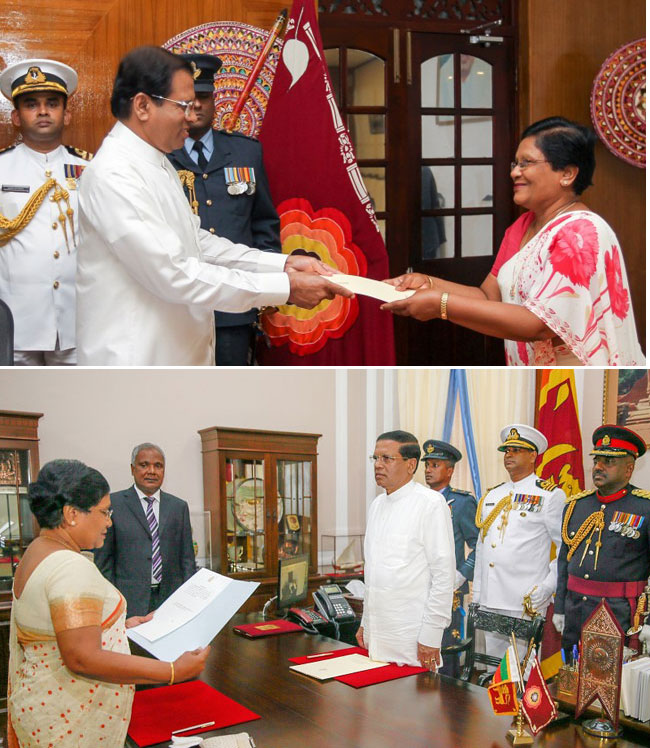Acting Chief Justice takes oaths…