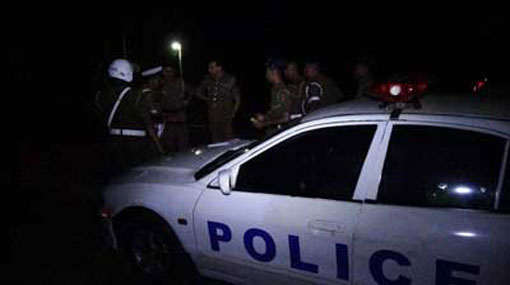Shots fired at police patrol car in Kilinochchi