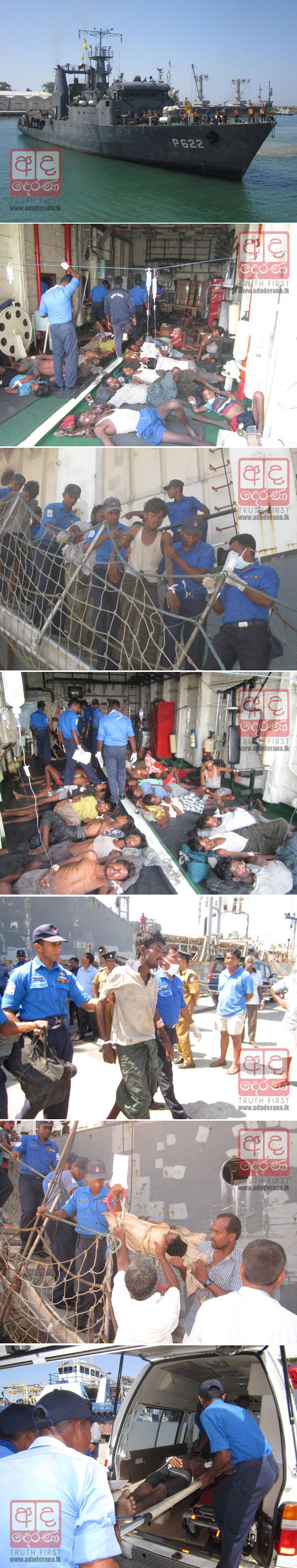VIDEO: Navy rescues 32 Myanmar nationals...