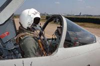 VIDEO: Pilot killed in Kfir crash