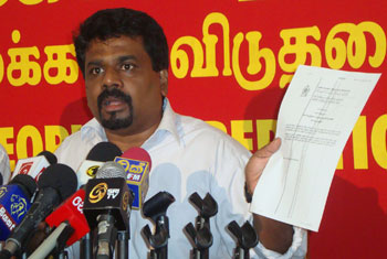 VIDEO: Govt's actions more criminal than the murders - JVP