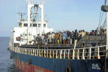 Captain of ship carrying 492 Lankan migrants continues testimony