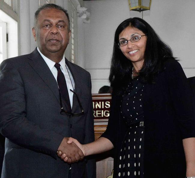 Nisha Biswal to arrive in Sri Lanka