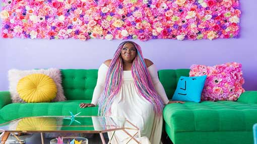 Social Media star turns house into masterpiece