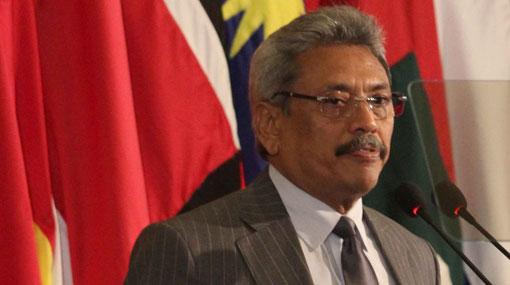 Gotabaya's passport impounded over floating armoury case