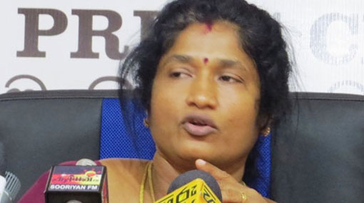 Sumanthiran didn't let me speak in Geneva - Anandi