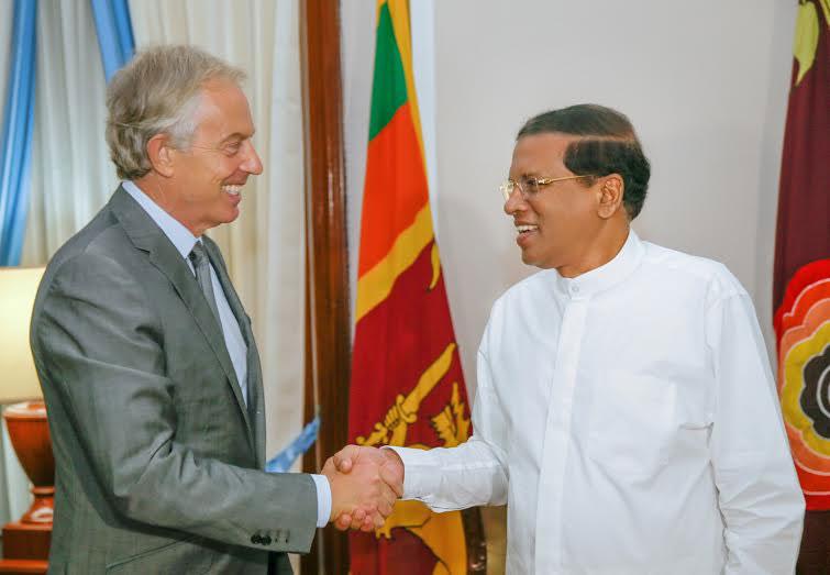 Blair assures to appear on behalf of Sri Lanka