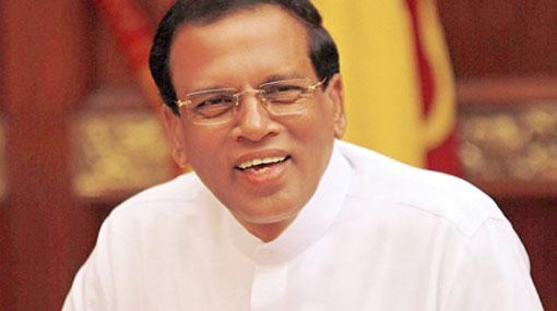 President Sirisena to strengthen Thai– Sri Lanka relations