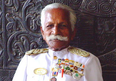Sri Lanka's legendary doorman turns 90