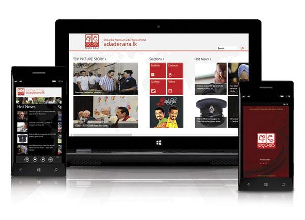 VIDEO: Ada Derana launches Sri Lanka's first official Windows 8 news app
