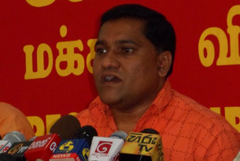 Govt responding to people's issues with batons and bullets - JVP