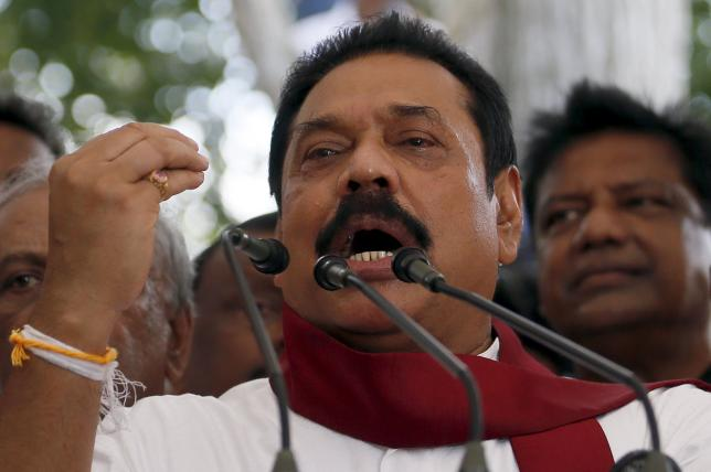 Will not allow anyone to tear the country into pieces, says Mahinda