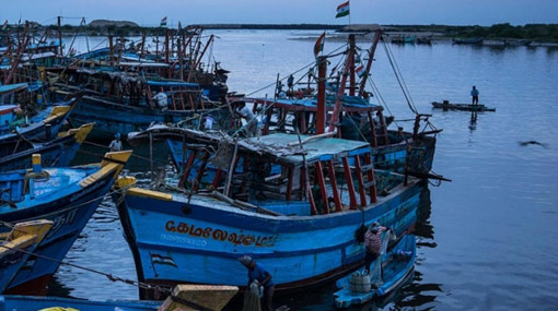 Sri Lankan fishing boat found abandoned in Indian waters