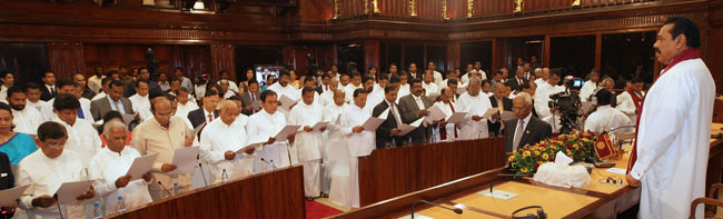 VIDEO: Senior Ministers sworn in
