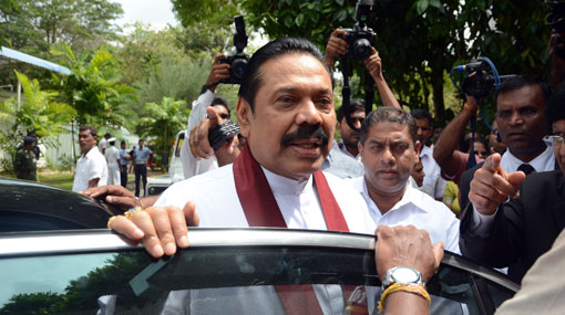 Mahinda arrives at PRECIFAC